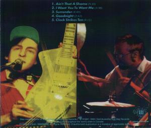 Cheap Strychn - Dead On Budakon - Back Cover